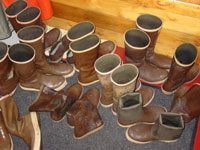 Extra Tuffs are the boot of choice in these parts...